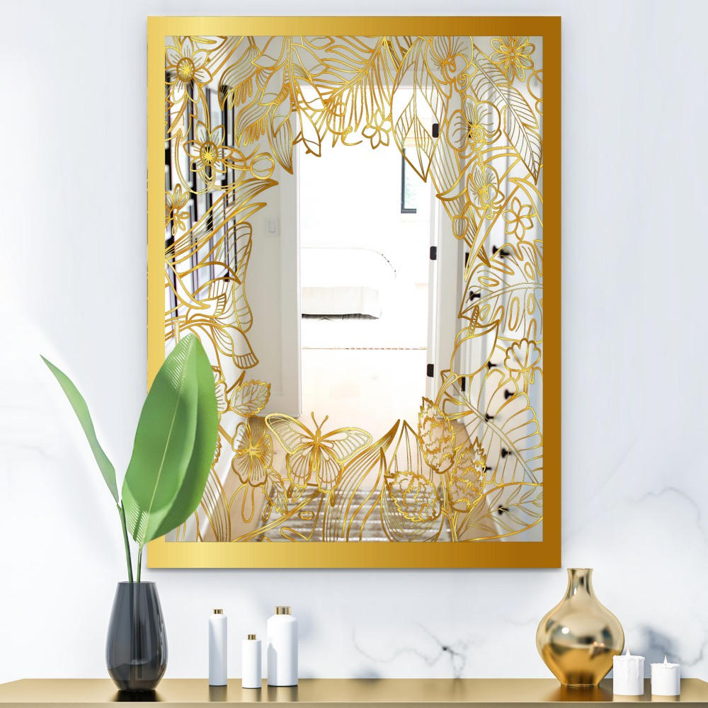 Capital Gold Botanical Bliss 3 - Glam Mirror
