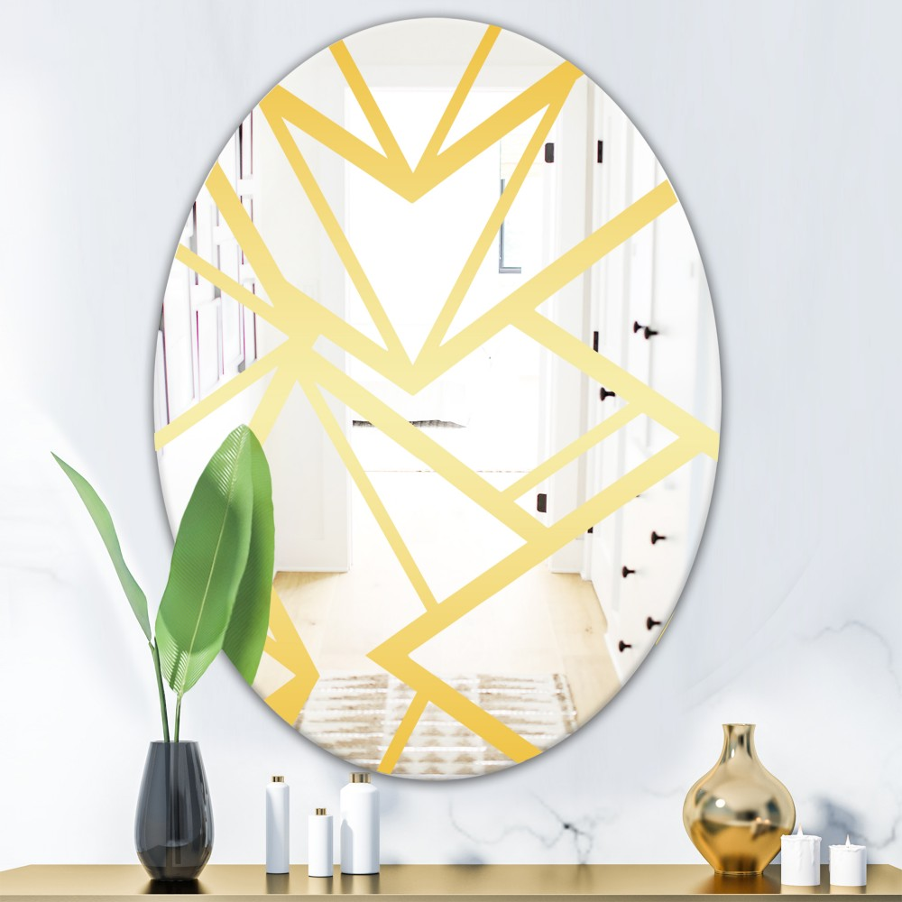 Capital Gold Essential 27 - Glam Oval Mirror
