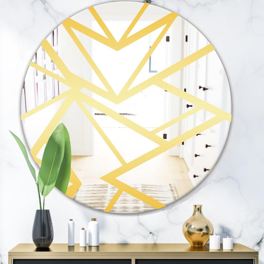 Capital Gold Essential 27 - Glam Round Mirror