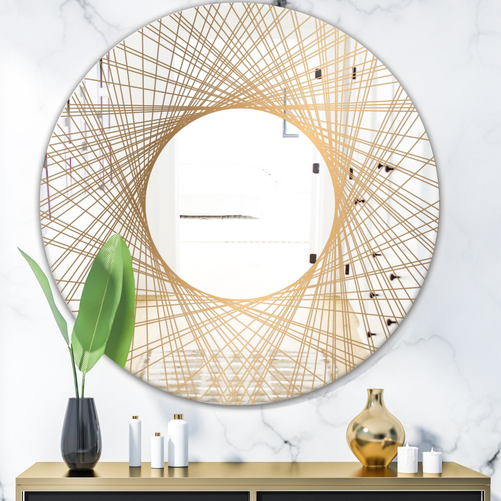 Capital Gold Essential 6 - Glam Round Mirror