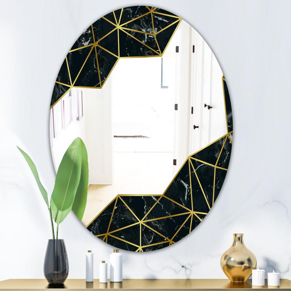 Capital Gold Sleek 11 - Glam Oval Mirror
