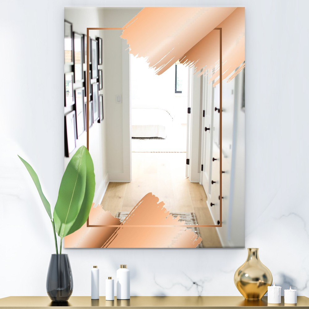 Copper Minimal 3 - Glam Mirror