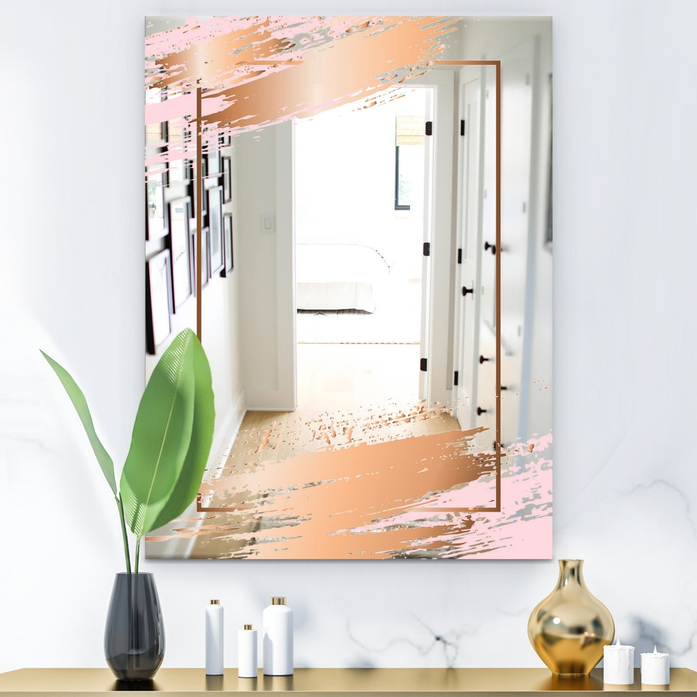 Copper Minimal 5 - Glam Mirror