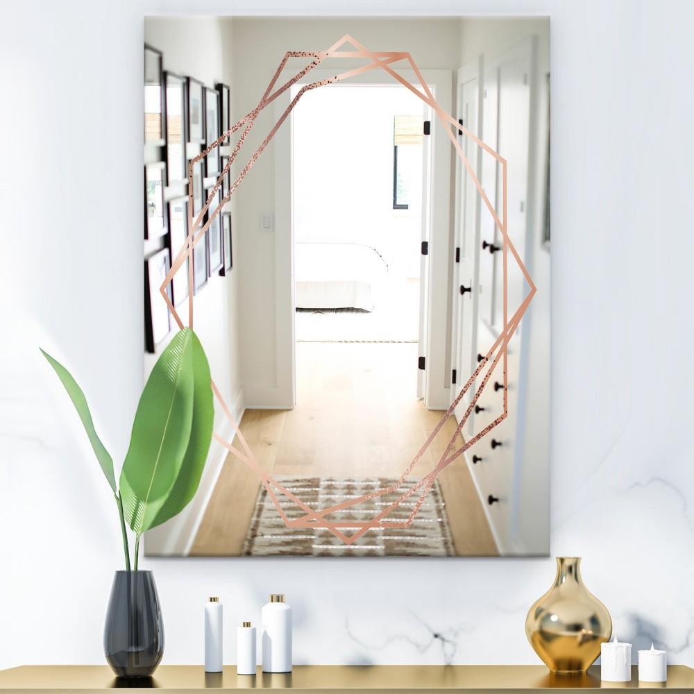 Copper Minimal 8 - Glam Mirror