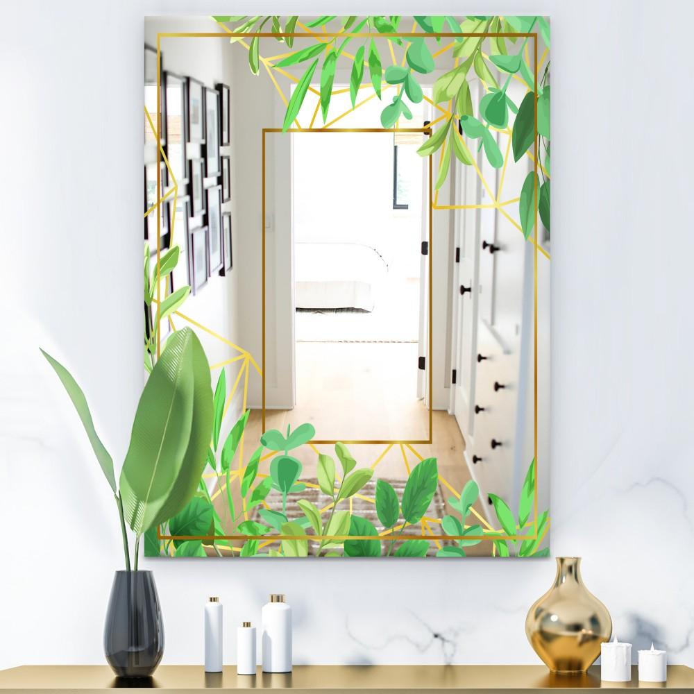 Efflorescent Gold Green 3 - Glam Mirror