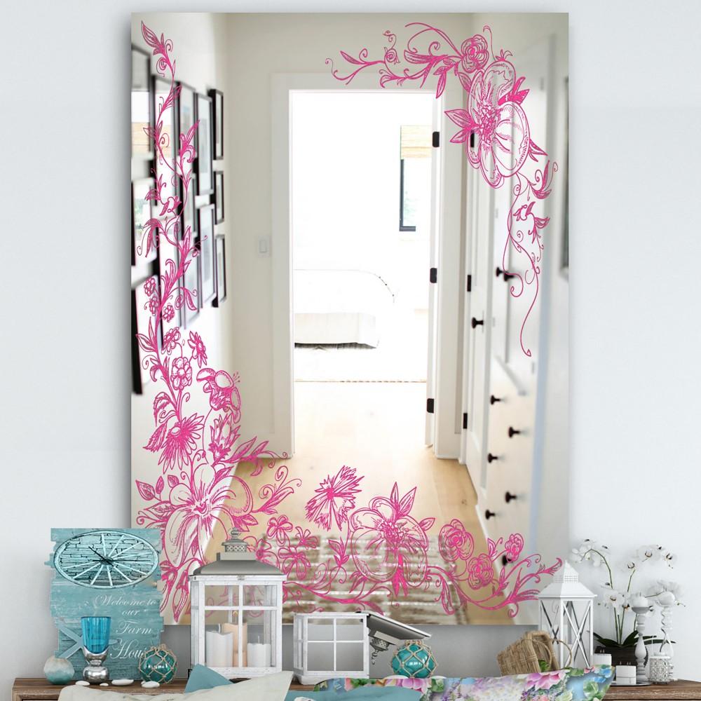 Garland Vivid 11 - Cottage Floral Mirror